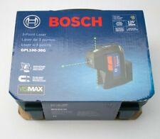 Bosch Gpl100 30g 125 38m 3 Pt Cordless Green Beam Self Leveling Laser