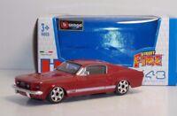 "Bburago 30000 Ford Mustang GT ""Red"" - METAL Scala 1:43"