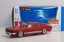 "Bburago 30000 Ford Mustang GT ""Red"" - METAL Scala 1:43"