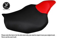 RED AND BLACK VINYL CUSTOM FITS KAWASAKI Z1000 14-16 FRONT SEAT COVER ONLY