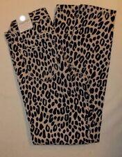 Childrens Place Girls Black Beige Leopard Print Leggings Jeggings Size 14 NWTS!