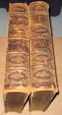 1872 & 1874 2 VOLUME SET - PICTURESQUE AMERICA - WILLIAM CULLEN BRYANT