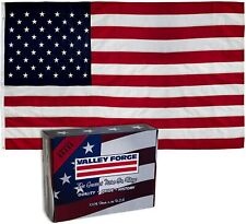 Valley Forge American Flag. 5' x 8' Nylon United States Flag.