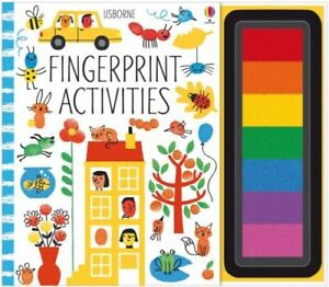FINGERPRINT ACTIVITIES NEW WATT FIONA USBORNE PUBLISHING LTD PAPERBACK  SOFTBACK