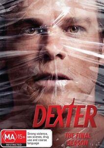 DVD DEXTER FINAL SEASON 8 SERIES 8 MICHEAL C. HALL 4 DISCS BRAND NEW SHOP SEALED