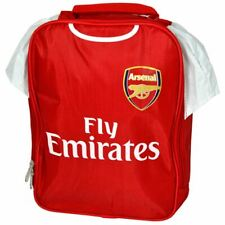 ARSENAL FC KIT INSULTED LUNCH BAG SHIRT FOOTBALL SCHOOL KIDS
