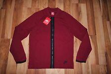 NWT Nike Men's Sportswear Tech Knit Bomber Jacket TEAM RED 810558 677 SZ S $250
