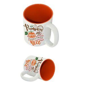 Pumpkin and Spice Coffee Drinks Mug