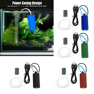 Aquarium Filter Oxygen Air Pump Fishing Tank Powerful Fish Tank Air Pump