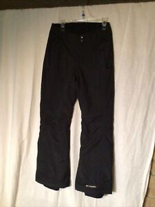 Columbia Insulated  Women's Size Small Black Snow Pants Ski Snowboard Insulated