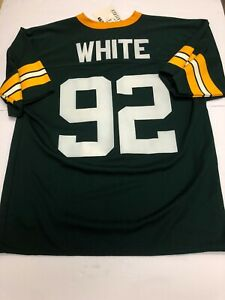 NTW Reggie White #92, Green Bay Packers Logo 7 Jersey Medium HOF