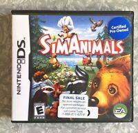 SimAnimals Nintendo DS Cartridge EUROPEAN version TESTED Sims Fast Ship!