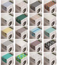 Ambesonne Geometric Theme Washing Machine Organizer Cover for Washer Dryer