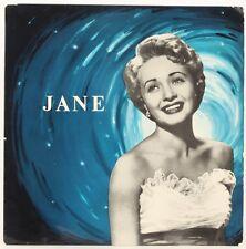 Jane  Jane Powell, Buddy Bregman And His Orchestra Vinyl Record