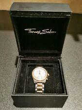 Ladies Thomas Sabo Glam Chronograph Watch WA0241-272-201-33MM