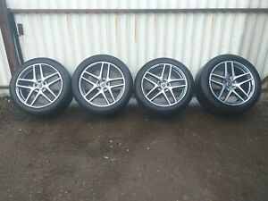 21 MERCEDES GLE 21 INCH C292 ALLOY WHEELS AND TYRES A2924012900/A2924011700
