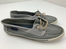 Sperry Lounge Away Boat Shoes Women's Size 9 M Gray STS80687