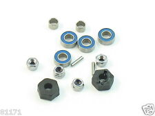 NEW TRAXXAS JATO 3.3 WHEEL HEX NUTS 12MM PINS SPACERS BEARINGS 1654 5116 5149
