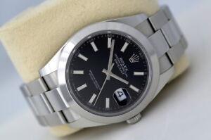 Rolex Datejust 41 126300 Automatic Watch Black Dial (2020)