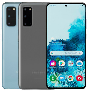 SAMSUNG GALAXY S20 5G 128GB SM-G981B/DS Dual SIM Cosmic Gray SMARTPHONE LTE OVP
