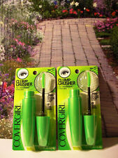 Covergirl Clump Crusher Mascara by LashBlast Code #805 Black Set 2 Sexy Lashes