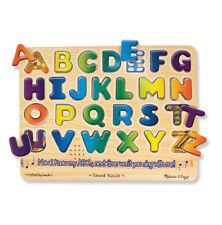 Melissa and Doug  Alphabet Sound Puzzle - 26 Pieces #340 #0340 New Sealed