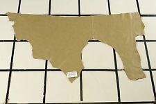 "Soft, Flexible ""Washburn"" Green Scrap Leather Hide Approx. 6 sqft. H32W24-7"