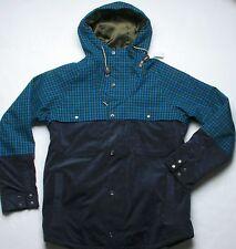 Burton Squire Snowboard Jacket (L) Royals Plaid