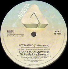 BARRY MANILOW WITH KID CREOLE Y THE COCOS - Hey Mambo - Arista