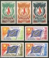SERVICES CONSEIL DE L'EUROPE / UNESCO  43 à 49 NEUFS **