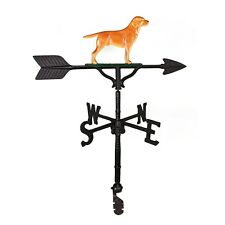 """32"""" Roof Mount Weathervane Lab Dog Doggie Directionals New 4 Finishes"""