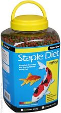 Pond One P1-26522 Staple Diet Pellets 4mm 1520g Bottle for Pond Fish