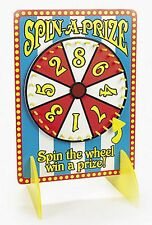 WOODEN SPIN THE WHEEL WIN A PRIZE SPIN & WIN PARTY GAME