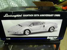Lamborghini Countach 25th Anniversary 1:18 Die-cast model.