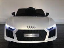 Voiture électrique enfant Audi R8 Spyder 12V Blanche