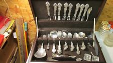 Westmorland Sterling Martha & George Set & Chest- 58 pcs
