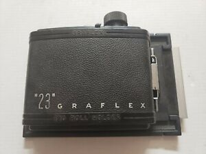 """23"" Graflex 120 Roll Film Holder 4x5 Graflex Camera Excellent Condition L@@K!"