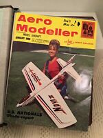 AERO MODELLER MAGAZINE Bound Lot January February March April All 12  1968