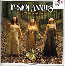 PISTOL ANNIES Interstate Gospel 2018 UK 14-trk low numbered promo test CD sealed