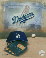 LA Dodgers Photo Cap Glove Logo Stadium MLB Baseball