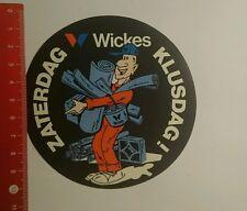 Aufkleber/Sticker: Zaterdag Klusdag Wickes (14091644)