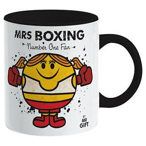 Boxing Mug - Sports Gift Gloves Punch Fight Fan Present Gift mum women girl