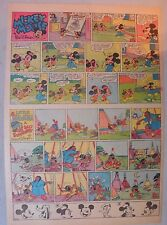 Mickey Mouse Sunday Page by Walt Disney from 7/20/1941 Tabloid Page Size