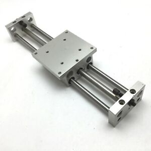 "Phd CBU031X8 Rodless Cylinder Slide Linear Table, Shafts: 3/8"", Stroke: 8"""