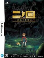 Ni no Kuni & Book Magic Master Ninokuni Nintendo DS Studio Ghibli JAPAN IMPORT