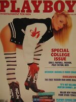 Playboy October 1988 | Shannon Long Nancie Martin College Issue     #1188+