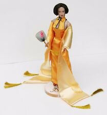 Stylish 12 inch Barbie size Jennifer Sue Doll in Qipao