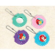 LITTLE MERMAID Dream Big MIRROR KEYCHAINS (12) ~ Birthday Party Supplies Favors