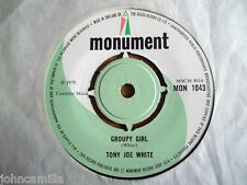 "TONY JOE WHITE - GROUPY GIRL - 7"" RECORD / VINYL - MONUMENT - MON 1043"