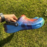 Crocs Classic Tie Dye Bistro Graphic Clog Multi Color Mens 8 Womens 10 Slip On
